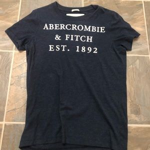 Men's Abercrombie embroidered logo T-shirt